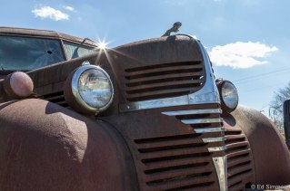 Old Dodge Truck resting in the sun near Mocksville NC. 2016. (c) Ed SImmons Photography