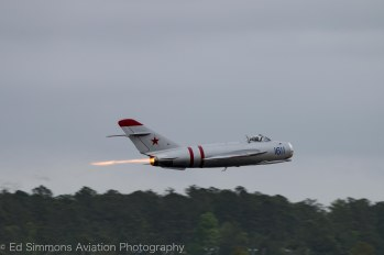 Randy W. Ball Mig-17 Afterburner, 2016 (c) Ed Simmons Aerial Photography