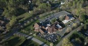 Aerial photos of Clemmons Presbyterian Church